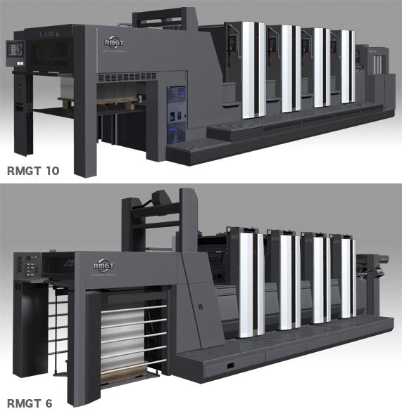 印刷機:RMGT10&RMGT6
